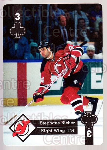 1995-96 Hoyle Eastern Playing Card #16 Stephane Richer<br/>8 In Stock - $2.00 each - <a href=https://centericecollectibles.foxycart.com/cart?name=1995-96%20Hoyle%20Eastern%20Playing%20Card%20%2316%20Stephane%20Richer...&quantity_max=8&price=$2.00&code=40255 class=foxycart> Buy it now! </a>