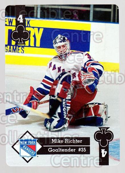 1995-96 Hoyle Eastern Playing Card #17 Mike Richter<br/>6 In Stock - $2.00 each - <a href=https://centericecollectibles.foxycart.com/cart?name=1995-96%20Hoyle%20Eastern%20Playing%20Card%20%2317%20Mike%20Richter...&quantity_max=6&price=$2.00&code=40256 class=foxycart> Buy it now! </a>