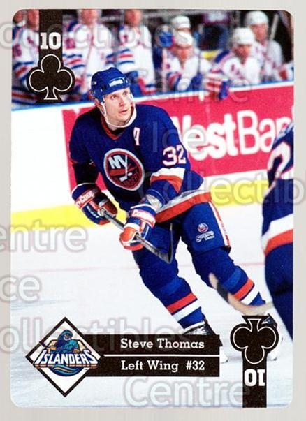 1995-96 Hoyle Eastern Playing Card #23 Steve Thomas<br/>10 In Stock - $2.00 each - <a href=https://centericecollectibles.foxycart.com/cart?name=1995-96%20Hoyle%20Eastern%20Playing%20Card%20%2323%20Steve%20Thomas...&quantity_max=10&price=$2.00&code=40263 class=foxycart> Buy it now! </a>