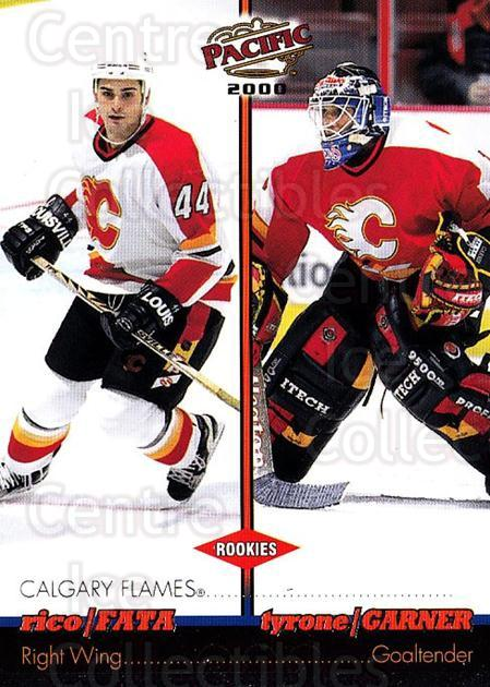 1999-00 Pacific #66 Tyrone Garner, Rico Fata<br/>1 In Stock - $1.00 each - <a href=https://centericecollectibles.foxycart.com/cart?name=1999-00%20Pacific%20%2366%20Tyrone%20Garner,%20...&quantity_max=1&price=$1.00&code=402671 class=foxycart> Buy it now! </a>