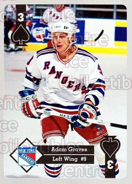 1995-96 Hoyle Eastern Playing Card #29 Adam Graves<br/>8 In Stock - $2.00 each - <a href=https://centericecollectibles.foxycart.com/cart?name=1995-96%20Hoyle%20Eastern%20Playing%20Card%20%2329%20Adam%20Graves...&quantity_max=8&price=$2.00&code=40267 class=foxycart> Buy it now! </a>