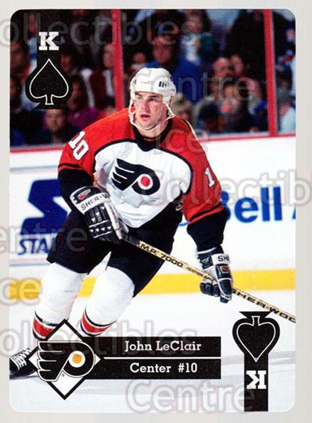 1995-96 Hoyle Eastern Playing Card #39 John LeClair<br/>10 In Stock - $2.00 each - <a href=https://centericecollectibles.foxycart.com/cart?name=1995-96%20Hoyle%20Eastern%20Playing%20Card%20%2339%20John%20LeClair...&quantity_max=10&price=$2.00&code=40277 class=foxycart> Buy it now! </a>