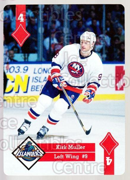 1995-96 Hoyle Eastern Playing Card #43 Kirk Muller<br/>9 In Stock - $2.00 each - <a href=https://centericecollectibles.foxycart.com/cart?name=1995-96%20Hoyle%20Eastern%20Playing%20Card%20%2343%20Kirk%20Muller...&quantity_max=9&price=$2.00&code=40282 class=foxycart> Buy it now! </a>