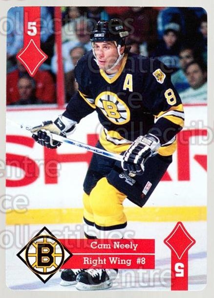 1995-96 Hoyle Eastern Playing Card #44 Cam Neely<br/>3 In Stock - $2.00 each - <a href=https://centericecollectibles.foxycart.com/cart?name=1995-96%20Hoyle%20Eastern%20Playing%20Card%20%2344%20Cam%20Neely...&quantity_max=3&price=$2.00&code=40283 class=foxycart> Buy it now! </a>