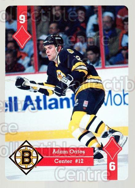 1995-96 Hoyle Eastern Playing Card #48 Adam Oates<br/>10 In Stock - $2.00 each - <a href=https://centericecollectibles.foxycart.com/cart?name=1995-96%20Hoyle%20Eastern%20Playing%20Card%20%2348%20Adam%20Oates...&quantity_max=10&price=$2.00&code=40287 class=foxycart> Buy it now! </a>