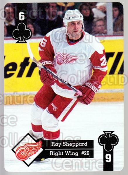 1995-96 Hoyle Western Playing Card #19 Ray Sheppard<br/>7 In Stock - $2.00 each - <a href=https://centericecollectibles.foxycart.com/cart?name=1995-96%20Hoyle%20Western%20Playing%20Card%20%2319%20Ray%20Sheppard...&quantity_max=7&price=$2.00&code=40306 class=foxycart> Buy it now! </a>