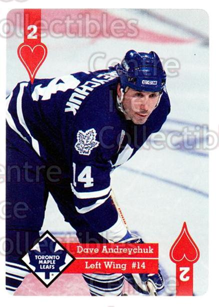 1995-96 Hoyle Western Playing Card #2 Dave Andreychuk<br/>7 In Stock - $2.00 each - <a href=https://centericecollectibles.foxycart.com/cart?name=1995-96%20Hoyle%20Western%20Playing%20Card%20%232%20Dave%20Andreychuk...&quantity_max=7&price=$2.00&code=40307 class=foxycart> Buy it now! </a>