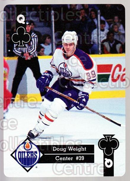 1995-96 Hoyle Western Playing Card #25 Doug Weight<br/>5 In Stock - $2.00 each - <a href=https://centericecollectibles.foxycart.com/cart?name=1995-96%20Hoyle%20Western%20Playing%20Card%20%2325%20Doug%20Weight...&quantity_max=5&price=$2.00&code=40313 class=foxycart> Buy it now! </a>