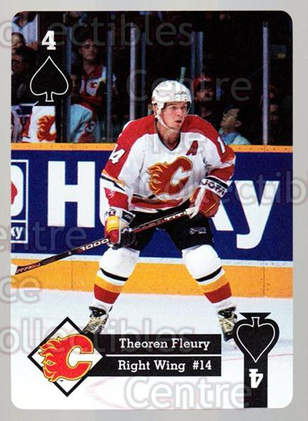 1995-96 Hoyle Western Playing Card #30 Theo Fleury<br/>4 In Stock - $2.00 each - <a href=https://centericecollectibles.foxycart.com/cart?name=1995-96%20Hoyle%20Western%20Playing%20Card%20%2330%20Theo%20Fleury...&quantity_max=4&price=$2.00&code=40317 class=foxycart> Buy it now! </a>