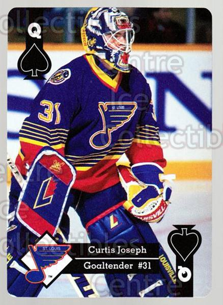 1995-96 Hoyle Western Playing Card #38 Curtis Joseph<br/>6 In Stock - $2.00 each - <a href=https://centericecollectibles.foxycart.com/cart?name=1995-96%20Hoyle%20Western%20Playing%20Card%20%2338%20Curtis%20Joseph...&quantity_max=6&price=$2.00&code=40324 class=foxycart> Buy it now! </a>