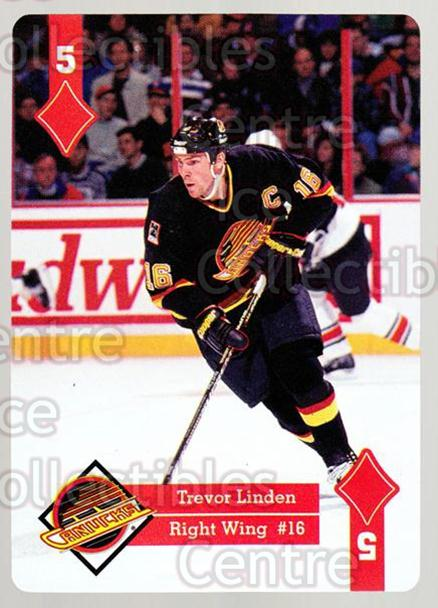 1995-96 Hoyle Western Playing Card #44 Trevor Linden<br/>7 In Stock - $2.00 each - <a href=https://centericecollectibles.foxycart.com/cart?name=1995-96%20Hoyle%20Western%20Playing%20Card%20%2344%20Trevor%20Linden...&quantity_max=7&price=$2.00&code=40329 class=foxycart> Buy it now! </a>