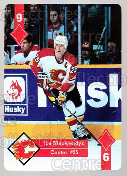 1995-96 Hoyle Western Playing Card #48 Joe Nieuwendyk<br/>7 In Stock - $2.00 each - <a href=https://centericecollectibles.foxycart.com/cart?name=1995-96%20Hoyle%20Western%20Playing%20Card%20%2348%20Joe%20Nieuwendyk...&quantity_max=7&price=$2.00&code=40333 class=foxycart> Buy it now! </a>