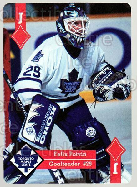 1995-96 Hoyle Western Playing Card #50 Felix Potvin<br/>4 In Stock - $2.00 each - <a href=https://centericecollectibles.foxycart.com/cart?name=1995-96%20Hoyle%20Western%20Playing%20Card%20%2350%20Felix%20Potvin...&quantity_max=4&price=$2.00&code=40336 class=foxycart> Buy it now! </a>