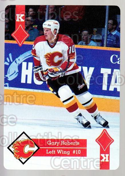 1995-96 Hoyle Western Playing Card #52 Gary Roberts<br/>6 In Stock - $2.00 each - <a href=https://centericecollectibles.foxycart.com/cart?name=1995-96%20Hoyle%20Western%20Playing%20Card%20%2352%20Gary%20Roberts...&quantity_max=6&price=$2.00&code=40338 class=foxycart> Buy it now! </a>