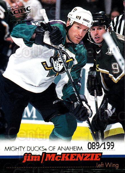 1999-00 Pacific Emerald #10 Jim McKenzie<br/>1 In Stock - $3.00 each - <a href=https://centericecollectibles.foxycart.com/cart?name=1999-00%20Pacific%20Emerald%20%2310%20Jim%20McKenzie...&quantity_max=1&price=$3.00&code=403736 class=foxycart> Buy it now! </a>