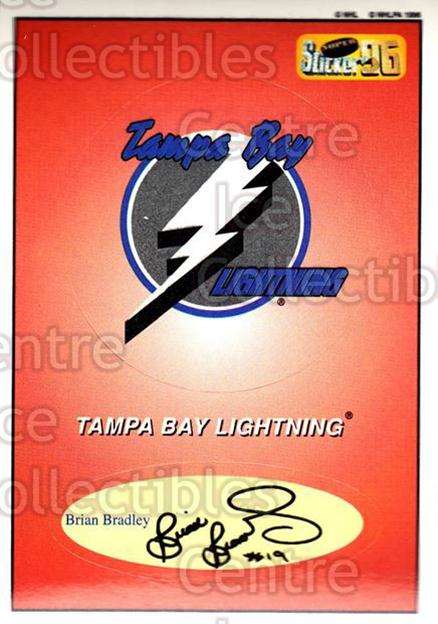 1995-96 Imperial Stickers #111 Tampa Bay Lightning<br/>4 In Stock - $2.00 each - <a href=https://centericecollectibles.foxycart.com/cart?name=1995-96%20Imperial%20Stickers%20%23111%20Tampa%20Bay%20Light...&quantity_max=4&price=$2.00&code=40373 class=foxycart> Buy it now! </a>