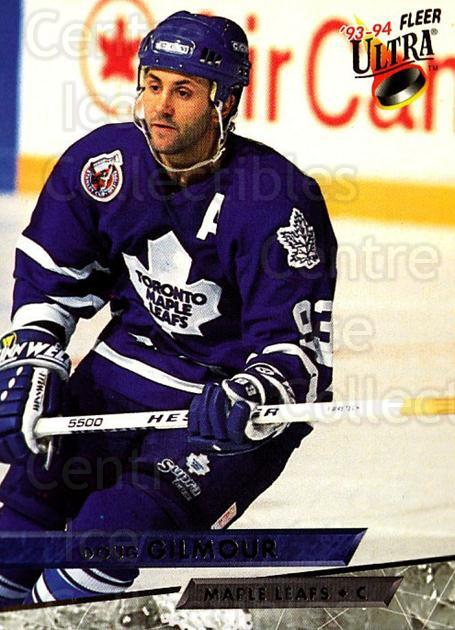 1993-94 Ultra #110 Doug Gilmour<br/>2 In Stock - $1.00 each - <a href=https://centericecollectibles.foxycart.com/cart?name=1993-94%20Ultra%20%23110%20Doug%20Gilmour...&quantity_max=2&price=$1.00&code=4039 class=foxycart> Buy it now! </a>