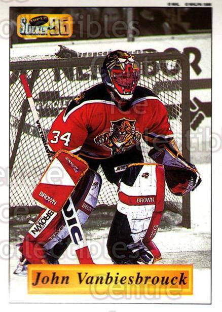 1995-96 Imperial Stickers #47 John Vanbiesbrouck<br/>1 In Stock - $2.00 each - <a href=https://centericecollectibles.foxycart.com/cart?name=1995-96%20Imperial%20Stickers%20%2347%20John%20Vanbiesbro...&quantity_max=1&price=$2.00&code=40430 class=foxycart> Buy it now! </a>