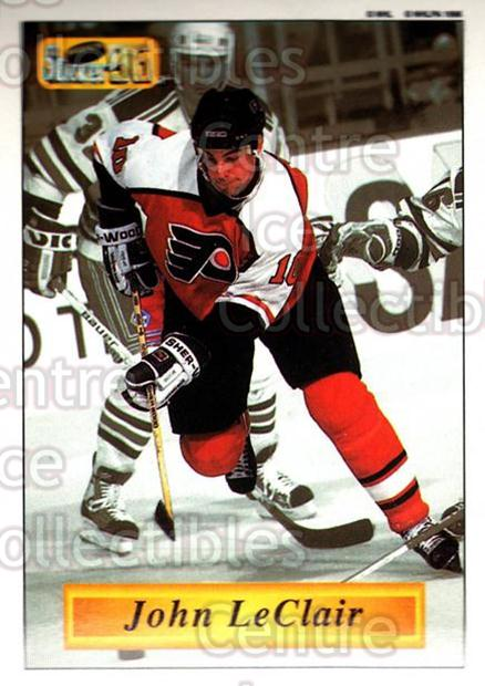 1995-96 Imperial Stickers #92 John LeClair<br/>3 In Stock - $2.00 each - <a href=https://centericecollectibles.foxycart.com/cart?name=1995-96%20Imperial%20Stickers%20%2392%20John%20LeClair...&quantity_max=3&price=$2.00&code=40477 class=foxycart> Buy it now! </a>