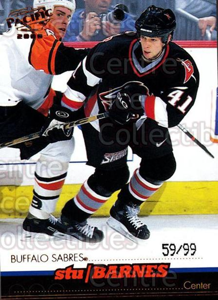 1999-00 Pacific Copper #33 Stu Barnes<br/>1 In Stock - $5.00 each - <a href=https://centericecollectibles.foxycart.com/cart?name=1999-00%20Pacific%20Copper%20%2333%20Stu%20Barnes...&quantity_max=1&price=$5.00&code=404814 class=foxycart> Buy it now! </a>
