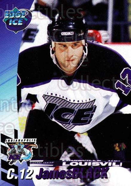 1995-96 Indianapolis Ice #2 James Black<br/>12 In Stock - $3.00 each - <a href=https://centericecollectibles.foxycart.com/cart?name=1995-96%20Indianapolis%20Ice%20%232%20James%20Black...&quantity_max=12&price=$3.00&code=40494 class=foxycart> Buy it now! </a>