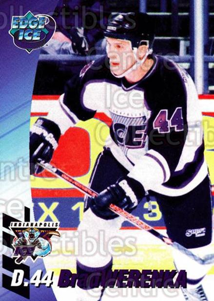 1995-96 Indianapolis Ice #22 Brad Werenka<br/>14 In Stock - $3.00 each - <a href=https://centericecollectibles.foxycart.com/cart?name=1995-96%20Indianapolis%20Ice%20%2322%20Brad%20Werenka...&quantity_max=14&price=$3.00&code=40497 class=foxycart> Buy it now! </a>