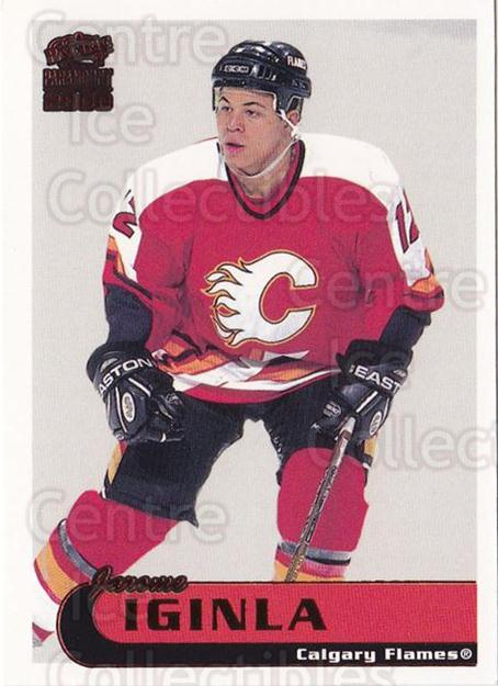 1999-00 Paramount Red #40 Jarome Iginla<br/>7 In Stock - $2.00 each - <a href=https://centericecollectibles.foxycart.com/cart?name=1999-00%20Paramount%20Red%20%2340%20Jarome%20Iginla...&quantity_max=7&price=$2.00&code=404986 class=foxycart> Buy it now! </a>