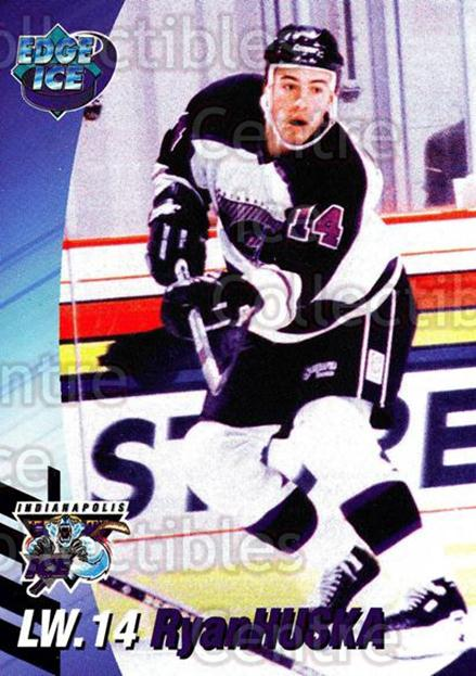 1995-96 Indianapolis Ice #9 Ryan Huska<br/>8 In Stock - $3.00 each - <a href=https://centericecollectibles.foxycart.com/cart?name=1995-96%20Indianapolis%20Ice%20%239%20Ryan%20Huska...&quantity_max=8&price=$3.00&code=40505 class=foxycart> Buy it now! </a>
