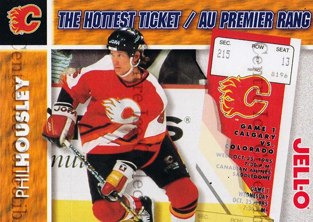 1995-96 Kraft Jell-O Hottest Tickets #7 Phil Housley<br/>7 In Stock - $3.00 each - <a href=https://centericecollectibles.foxycart.com/cart?name=1995-96%20Kraft%20Jell-O%20Hottest%20Tickets%20%237%20Phil%20Housley...&quantity_max=7&price=$3.00&code=40515 class=foxycart> Buy it now! </a>