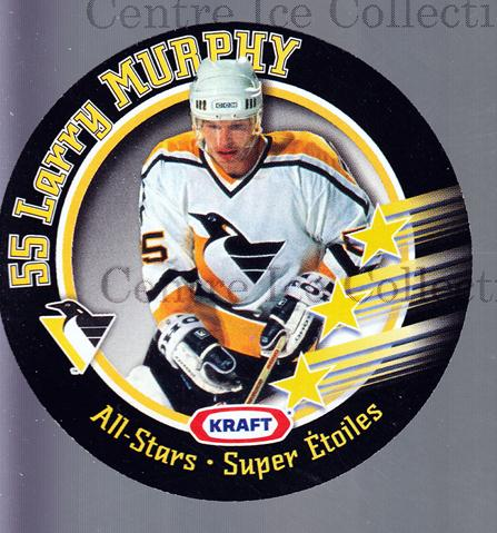 1995-96 Kraft Disc #11 Larry Murphy<br/>10 In Stock - $2.00 each - <a href=https://centericecollectibles.foxycart.com/cart?name=1995-96%20Kraft%20Disc%20%2311%20Larry%20Murphy...&quantity_max=10&price=$2.00&code=40542 class=foxycart> Buy it now! </a>