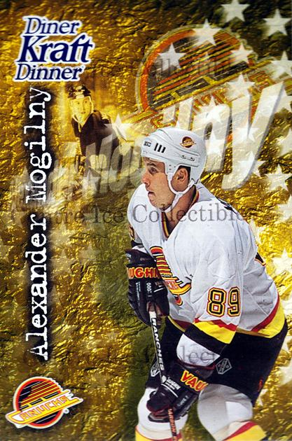 1995-96 Kraft Dinner #18 Alexander Mogilny<br/>7 In Stock - $3.00 each - <a href=https://centericecollectibles.foxycart.com/cart?name=1995-96%20Kraft%20Dinner%20%2318%20Alexander%20Mogil...&quantity_max=7&price=$3.00&code=40545 class=foxycart> Buy it now! </a>
