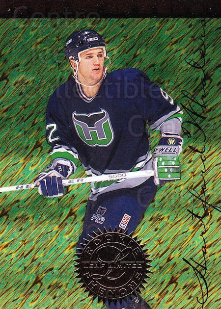 1995-96 Leaf Limited Rookie Phenoms #8 Jeff O'Neill<br/>4 In Stock - $3.00 each - <a href=https://centericecollectibles.foxycart.com/cart?name=1995-96%20Leaf%20Limited%20Rookie%20Phenoms%20%238%20Jeff%20O'Neill...&quantity_max=4&price=$3.00&code=40604 class=foxycart> Buy it now! </a>