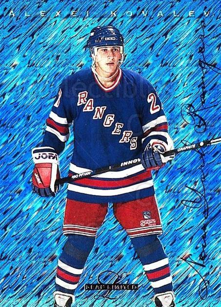 1995-96 Leaf Limited #48 Alexei Kovalev<br/>6 In Stock - $1.00 each - <a href=https://centericecollectibles.foxycart.com/cart?name=1995-96%20Leaf%20Limited%20%2348%20Alexei%20Kovalev...&quantity_max=6&price=$1.00&code=40666 class=foxycart> Buy it now! </a>