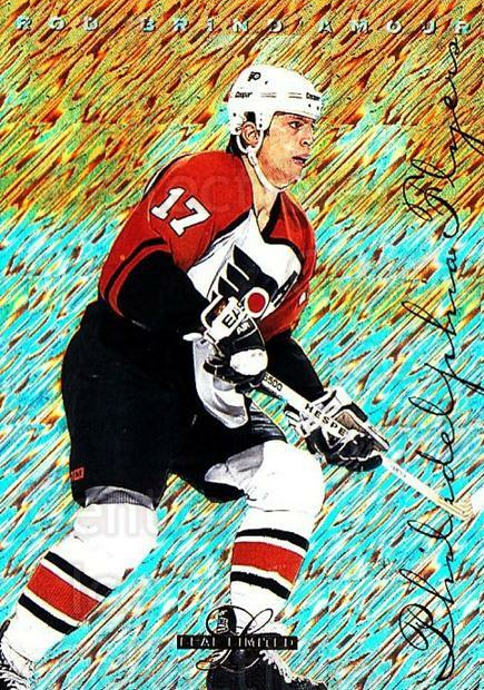 1995-96 Leaf Limited #69 Rod Brind'Amour<br/>4 In Stock - $1.00 each - <a href=https://centericecollectibles.foxycart.com/cart?name=1995-96%20Leaf%20Limited%20%2369%20Rod%20Brind'Amour...&quantity_max=4&price=$1.00&code=40686 class=foxycart> Buy it now! </a>