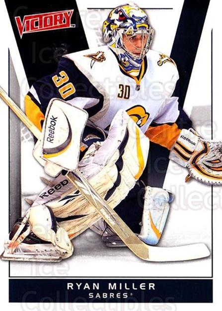 2010-11 UD Victory #19 Ryan Miller<br/>5 In Stock - $1.00 each - <a href=https://centericecollectibles.foxycart.com/cart?name=2010-11%20UD%20Victory%20%2319%20Ryan%20Miller...&quantity_max=5&price=$1.00&code=407502 class=foxycart> Buy it now! </a>