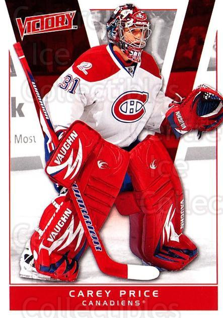 2010-11 UD Victory #104 Carey Price<br/>1 In Stock - $2.00 each - <a href=https://centericecollectibles.foxycart.com/cart?name=2010-11%20UD%20Victory%20%23104%20Carey%20Price...&price=$2.00&code=407587 class=foxycart> Buy it now! </a>