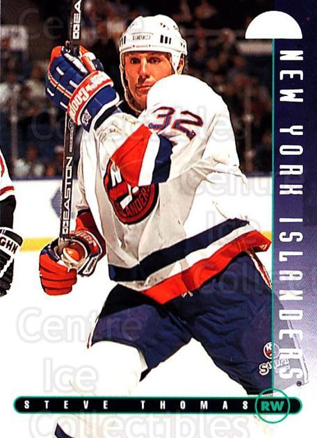 1995-96 Leaf #125 Steve Thomas<br/>4 In Stock - $1.00 each - <a href=https://centericecollectibles.foxycart.com/cart?name=1995-96%20Leaf%20%23125%20Steve%20Thomas...&quantity_max=4&price=$1.00&code=40761 class=foxycart> Buy it now! </a>