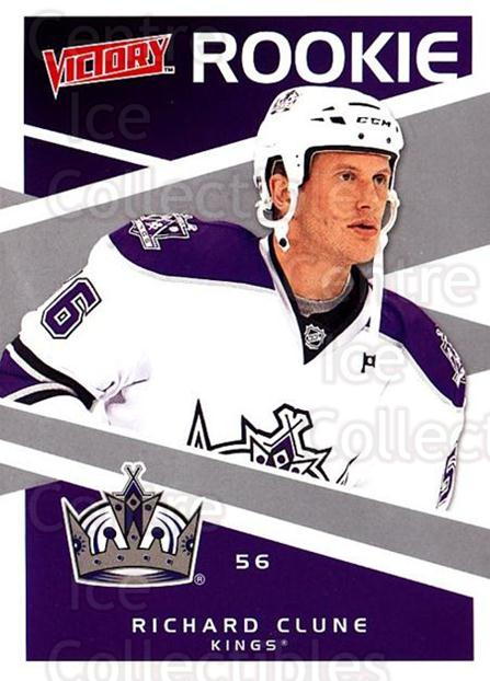 2010-11 UD Victory #222 Richard Clune<br/>1 In Stock - $2.00 each - <a href=https://centericecollectibles.foxycart.com/cart?name=2010-11%20UD%20Victory%20%23222%20Richard%20Clune...&price=$2.00&code=407705 class=foxycart> Buy it now! </a>