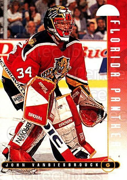 1995-96 Leaf #172 John Vanbiesbrouck<br/>4 In Stock - $1.00 each - <a href=https://centericecollectibles.foxycart.com/cart?name=1995-96%20Leaf%20%23172%20John%20Vanbiesbro...&quantity_max=4&price=$1.00&code=40812 class=foxycart> Buy it now! </a>