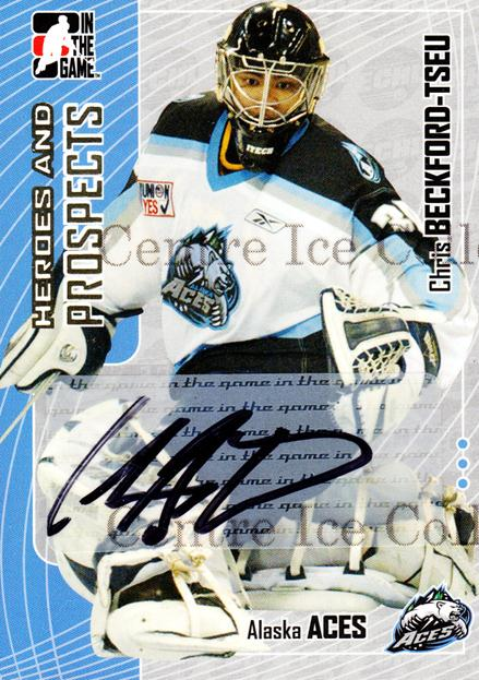 2005-06 ITG Heroes and Prospects Auto Series Two #CBT Chris Beckford-Tseu<br/>1 In Stock - $5.00 each - <a href=https://centericecollectibles.foxycart.com/cart?name=2005-06%20ITG%20Heroes%20and%20Prospects%20Auto%20Series%20Two%20%23CBT%20Chris%20Beckford-...&quantity_max=1&price=$5.00&code=408323 class=foxycart> Buy it now! </a>
