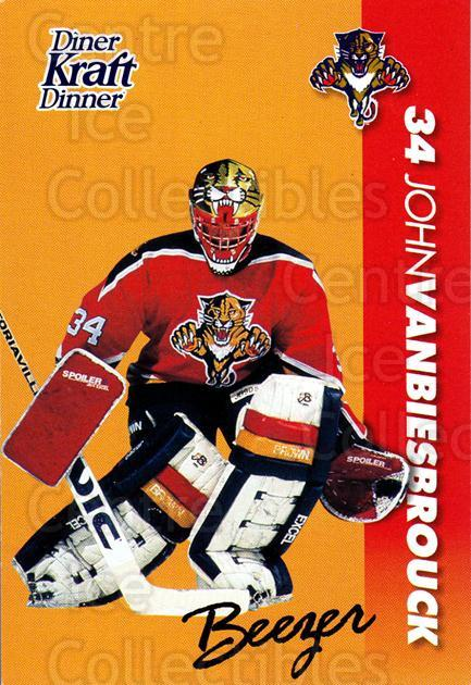 1994-95 Kraft Dinner Masked Defenders #25 Patrick Roy<br/>3 In Stock - $3.00 each - <a href=https://centericecollectibles.foxycart.com/cart?name=1994-95%20Kraft%20Dinner%20Masked%20Defenders%20%2325%20Patrick%20Roy...&price=$3.00&code=408327 class=foxycart> Buy it now! </a>