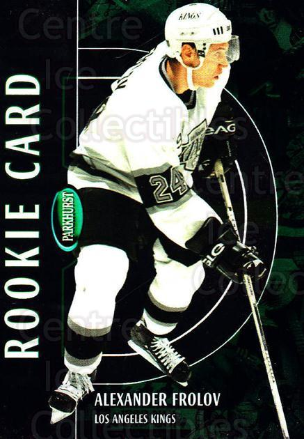 2002-03 Parkhurst #217 Alexander Frolov<br/>2 In Stock - $5.00 each - <a href=https://centericecollectibles.foxycart.com/cart?name=2002-03%20Parkhurst%20%23217%20Alexander%20Frolo...&quantity_max=2&price=$5.00&code=408481 class=foxycart> Buy it now! </a>