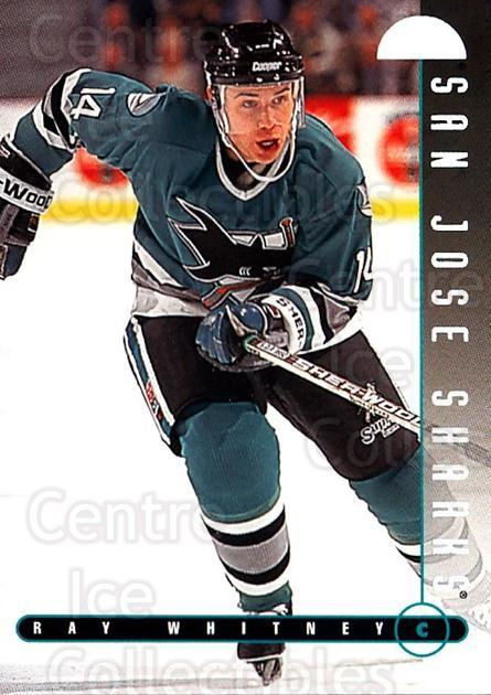 1995-96 Leaf #208 Ray Whitney<br/>4 In Stock - $1.00 each - <a href=https://centericecollectibles.foxycart.com/cart?name=1995-96%20Leaf%20%23208%20Ray%20Whitney...&quantity_max=4&price=$1.00&code=40852 class=foxycart> Buy it now! </a>