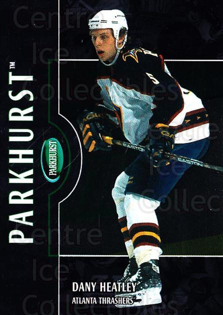 2002-03 Parkhurst Silver #125 Dany Heatley<br/>1 In Stock - $5.00 each - <a href=https://centericecollectibles.foxycart.com/cart?name=2002-03%20Parkhurst%20Silver%20%23125%20Dany%20Heatley...&quantity_max=1&price=$5.00&code=408874 class=foxycart> Buy it now! </a>