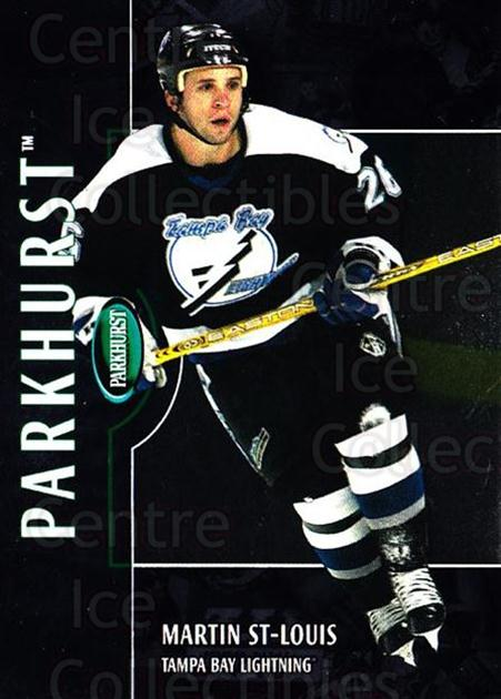 2002-03 Parkhurst Silver #134 Martin St. Louis<br/>1 In Stock - $5.00 each - <a href=https://centericecollectibles.foxycart.com/cart?name=2002-03%20Parkhurst%20Silver%20%23134%20Martin%20St.%20Loui...&quantity_max=1&price=$5.00&code=408883 class=foxycart> Buy it now! </a>