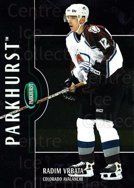 2002-03 Parkhurst Silver #162 Radim Vrbata<br/>2 In Stock - $5.00 each - <a href=https://centericecollectibles.foxycart.com/cart?name=2002-03%20Parkhurst%20Silver%20%23162%20Radim%20Vrbata...&quantity_max=2&price=$5.00&code=408911 class=foxycart> Buy it now! </a>
