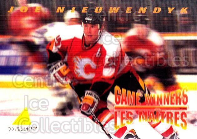 1995-96 McDonalds Pinnacle #12 Joe Nieuwendyk<br/>8 In Stock - $1.00 each - <a href=https://centericecollectibles.foxycart.com/cart?name=1995-96%20McDonalds%20Pinnacle%20%2312%20Joe%20Nieuwendyk...&quantity_max=8&price=$1.00&code=40898 class=foxycart> Buy it now! </a>