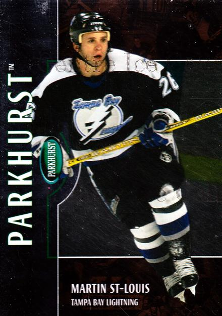 2002-03 Parkhurst Bronze #134 Martin St. Louis<br/>1 In Stock - $5.00 each - <a href=https://centericecollectibles.foxycart.com/cart?name=2002-03%20Parkhurst%20Bronze%20%23134%20Martin%20St.%20Loui...&quantity_max=1&price=$5.00&code=409199 class=foxycart> Buy it now! </a>