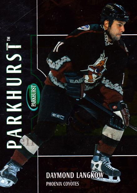 2002-03 Parkhurst Bronze #157 Daymond Langkow<br/>1 In Stock - $5.00 each - <a href=https://centericecollectibles.foxycart.com/cart?name=2002-03%20Parkhurst%20Bronze%20%23157%20Daymond%20Langkow...&quantity_max=1&price=$5.00&code=409222 class=foxycart> Buy it now! </a>