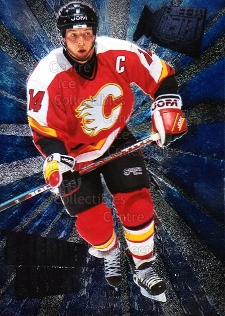1995-96 Metal Heavy Metal #3 Theo Fleury<br/>6 In Stock - $2.00 each - <a href=https://centericecollectibles.foxycart.com/cart?name=1995-96%20Metal%20Heavy%20Metal%20%233%20Theo%20Fleury...&quantity_max=6&price=$2.00&code=40935 class=foxycart> Buy it now! </a>